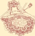 Plan-Josefov_Fortified Ideal City